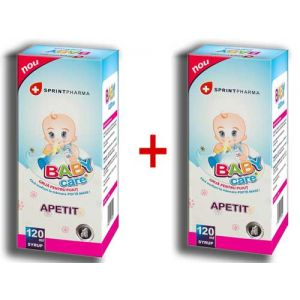 BABY CARE APETIT 1 + 1 GRATIS, 120 ml, Sprint Pharma
