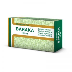 BARAKA 100 mg, 24 capsule moi, Pharco Impex