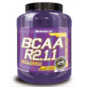 BCAA R2.1.1, 400 capsule, Nutrytec Platinum Pro