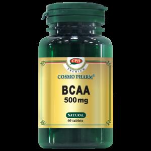 BCAA 500 mg, 60 tablete, Cosmo Pharm