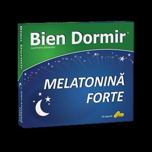 BIEN DORMIR CU MELATONINA FORTE 10 capsule, Fiterman Pharma