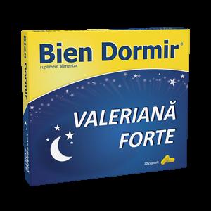 BIEN DORMIR CU VALERIANA FORTE 10 capsule, Fiterman Pharma