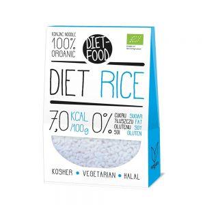 PERLE DIN KONJAC (OREZ) - SHIRATAKI 300 g, Diet Food