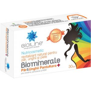 BIOMINERALE PAR & UNGHII PANTOKERA 30 comprimate, Ac Helcor