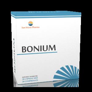 BONIUM 30 capsule moi + 30 comprimate, Sun Wave Pharma