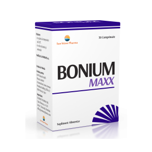 BONIUM MAXX 30 comprimate, Sun Wave Pharma