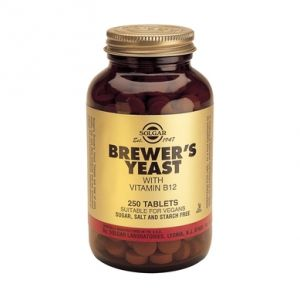 BREWERS YEAST 500 mg, 250 tablete, Solgar
