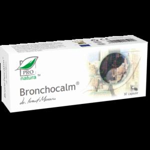 BRONCHOCALM, 30 capsule, Laboratoarele Medica