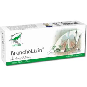 BRONCHOLIZIN, 30/60 capsule, Laboratoarele Medica