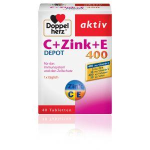C + ZINC + E 400, 40 comprimate, Doppelherz Aktiv
