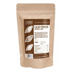 CACAO PULBERE RAW BIO 200 g, Dragon Superfoods
