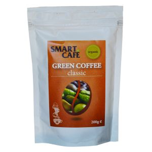 CAFEA VERDE MACINATA CLASIC BIO, 200  g, Dragon Superfoods