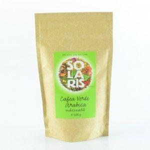 CAFEA VERDE ARABICA MACINATA 100 g, Solaris