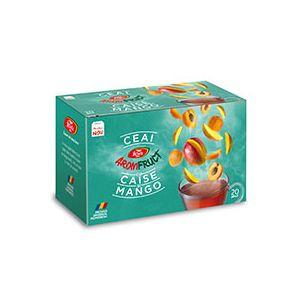 CAISE SI MANGO - AROMFRUCT, Ceai 20 plicuri x 2 g, Fares