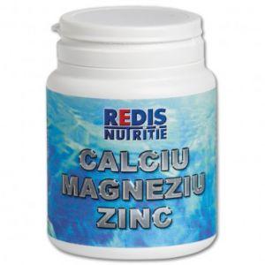 CALCIU, MAGNEZIU, ZINC, 120 capsule, Redis
