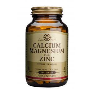 CALCIUM, MAGNESIUM + ZINC, 100 tablete, Solgar