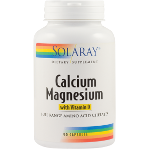 CALCIUM MAGNESIUM WITH VITAMIN D 90 capsule, Solaray