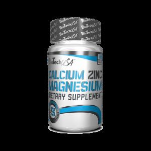 CALCIUM ZINC MAGNESIUM, 100 tablete, Biotech Nutrition
