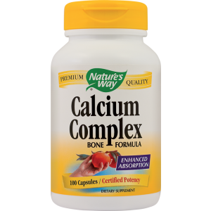 CALCIUM COMPLEX BONE FORMULA 100 capsule, Nature's Way