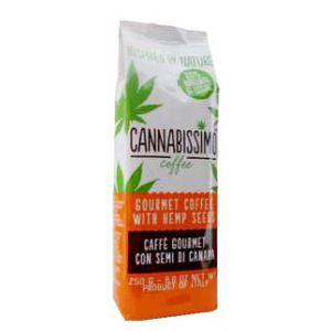 CAFEA CU SEMINTE DE CANEPA, 250 g/100 plicuri, Cannabissimo Coffee