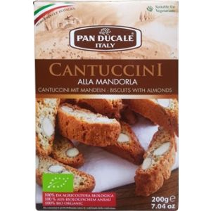 CANTUCCINI CU MIGDALE BIO 180 g, Pan Ducale Italy