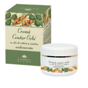 CREMA CONTUR OCHI ANTICEARCAN, 30 ml, Cosmetic Plant