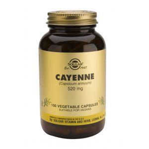 CAYENNE 520 mg, 100 capsue, Solgar