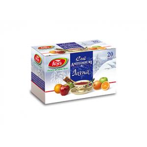 CEAI DE IARNA - AROMFRUCT, Ceai 20 plicuri, Fares