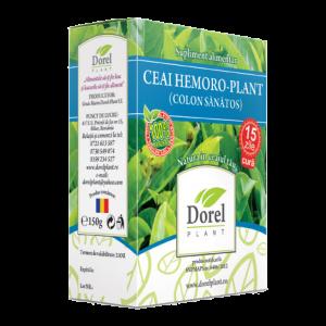 HEMORO PLANT (COLON SANATOS), Ceai 150 g, Dorel Plant