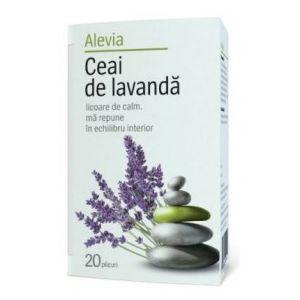 LAVANDA, Ceai 20 plicuri, Alevia