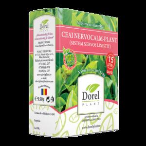 NERVOCALM PLANT (SISTEM NERVOS LINISTI), Ceai 150 g, Dorel Plant