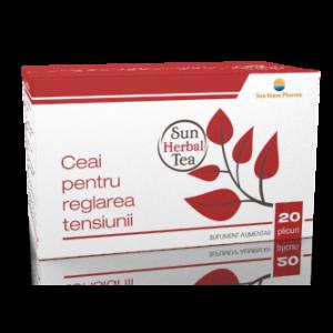 CEAI PENTRU REGLAREA TENSIUNII ARTERIALE 20 plicuri x 2,5 g, Sun Wave Pharma