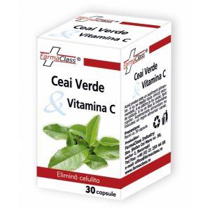 CEAI VERDE & VITAMINA C, 30 capsule, FarmaClass