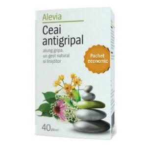 ANTIGRIPAL, Ceai 40 plicuri, Alevia