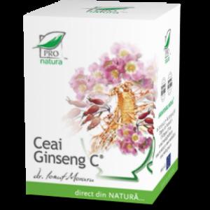 GINSENG C, Ceai 25 doze, Laboratoarele Medica