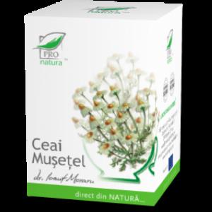 MUSETEL, Ceai 25 doze, Laboratoarele Medica