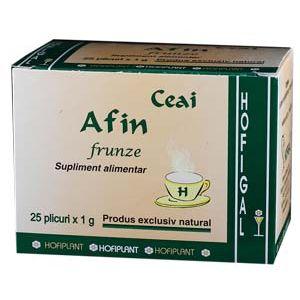 AFIN FRUNZE - CEAI, 25 plicuri x 1 g, Hofigal