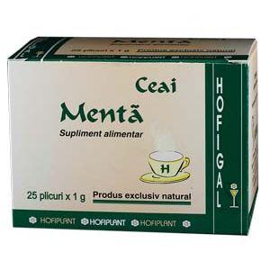 MENTA - CEAI, 25 plicuri x 1.0 g, Hofigal