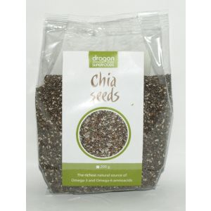 SEMINTE DE CHIA RAW 200 g, Dragon Superfoods