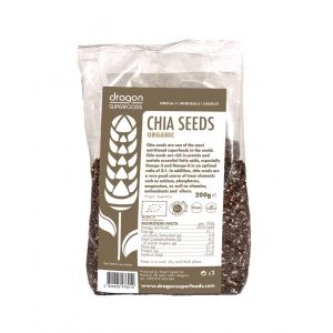 SEMINTE DE CHIA RAW BIO 200 g, Dragon Superfoods