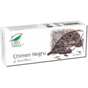 CHIMEN NEGRU, 30 capsule, Laboratoarele Medica