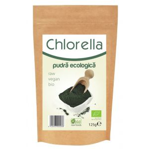 CHLORELLA PULBERE RAW BIO 125 g, Obio