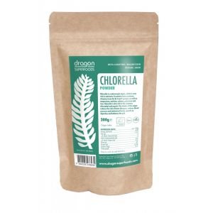CHLORELLA PULBERE BIO, 200 g, Dragon Superfoods