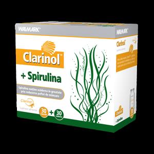 CLARINOL+ SPIRULINA, 30+30 capsule, Walmark