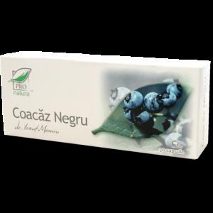 COACAZ NEGRU, 30/60 capsule, Laboratoarele Medica