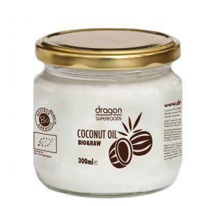 ULEI DE COCOS VIRGIN RAW BIO 300 ml, Dragon Superfoods