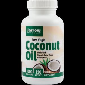 COCONUT OIL EXTRA VIRGIN 1000 mg, 120 capsule, Jarrow Formulas