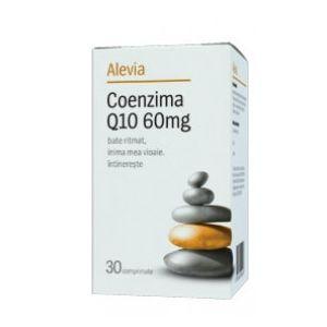 COENZIMA Q10 60 mg, 30 comprimate, Alevia