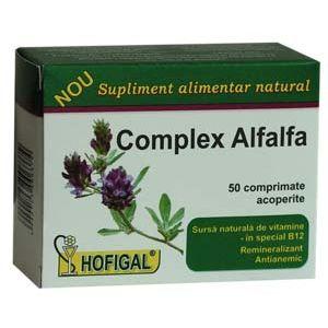 COMPLEX ALFALFA 50 comprimate, Hofigal