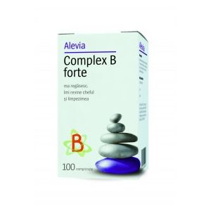 COMPLEX B FORTE 100 comprimate, Alevia